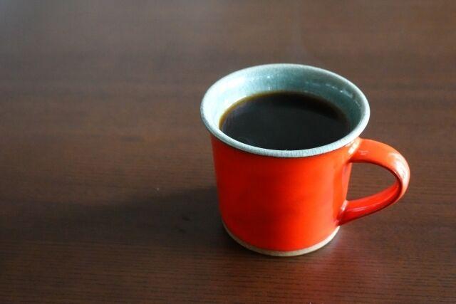 オレンジマグ コーヒー